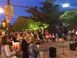 Light in the Darkness Interfaith Vigil at the Atlanta City Detenion Center