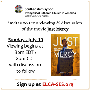 Just Mercy: Movie Viewing and Discussion